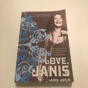 Love Janis Laura Joplin Autobiography Book